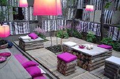 modern garden decoration models