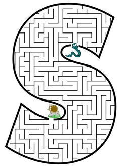 Kids-n-fun   Crafts - Maze