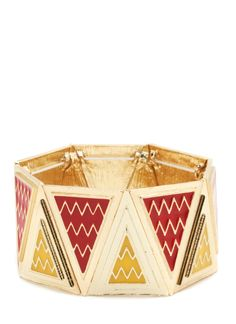 WVHS bangle. zigzag triangle bracelet $17.30