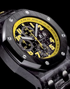 News : Audemars Piguet Royal Oak Offshore Carbone forgé