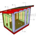Large Dog House - Step by step Plans | HowToSpecialist - How to Build, Step by Step DIY Plans Xl Dog House, Pallet Dog House, Build A Dog House, Duck House, Extra Large Dog Crate, Extra Large Dog House, Large Dogs, Small Dogs, Outdoor Shelters