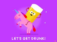 Let's get drunk! by Mauro Gatti - Dribbble