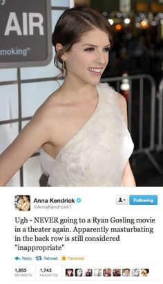 Anna Kendrick is awesome.
