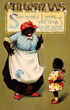 1905: Nope. Just nope. | 18 WTF Vintage Christmas Cards