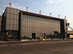 Manufactured and installed in the DRC. Project Kinshasa Airport