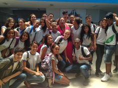 Blog do Inayá: Alunos empolgados com a primeira semana de aula
