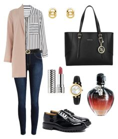 """Untitled #686"" by mariafilomena471 ❤ liked on Polyvore featuring H&M, Gucci, Dorothy Perkins, Tricker's, Paco Rabanne, GUESS, Monet and Sephora Collection"
