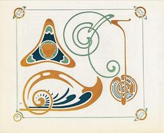 Combinaisons Ornementales - Alphonse Mucha, Maurice Verneuil & Georges Auriol    Art nouveau pattern book drawn by Alphonse Mucha and others. published 1901.    Read online at www.archive.org/stream/CombinaisonsOrnementales#page/n0/m...