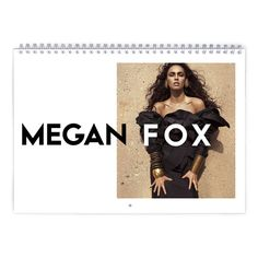 Megan Fox  Wild Side Calendar by MovieShop on Etsy