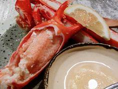 江差旅庭 群来(くき)【江差町】◆蟹嫌いでも美味しい!目の前で獲れてスグの『紅ずわい』