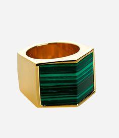 Henri Bendel - LUXE SEMI-PRECIOUS BOLD RING