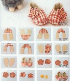 Baby diy clothes how to make 58 New Ideas Doll Shoe Patterns, Baby Shoes Pattern, Baby Clothes Patterns, Handgemachtes Baby, Baby Kind, Trendy Baby Clothes, Diy Clothes, Sewing For Kids, Baby Sewing