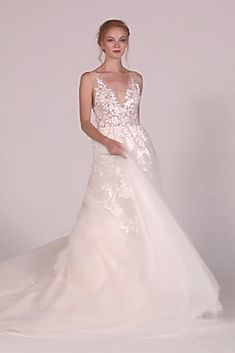 Whimislcal wedding dress idea - long-sleeve wedding dress with lace details - Style by Essense of Australia . Find more Essense of Australia wedding dress inspo on WeddingWire! Essense Of Australia Wedding Dresses, Top Wedding Dresses, Wedding Dress Trends, Wedding Dress Sleeves, Long Sleeve Wedding, Bridal Dresses, Lace Sleeves, Wedding Dress Cape, Reception Dresses