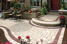 """Check out our website for more details on """"patio pavers diy"""". It is actually a superb place for more information. Front Yard Landscaping, Backyard Patio, Pavers Patio, Walkway, Landscaping Ideas, Paver Designs, Outdoor Patio Designs, Patio Layout, Aluminum Patio"""