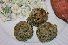 Kale Meatballs (3.5 stars)