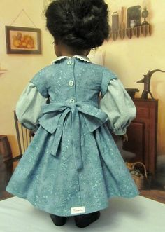 Civil War Dress- Back View | by Keepersdollyduds