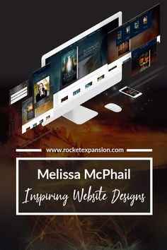 Our case study for the website design process and inspiration leading to the recreation of Epic Fantasy Author, Melissa McPhail's epic new website Amazon Audible, Fantasy Authors, Mission Accomplished, What Is Need, Create Website, Design Process, Audiobooks, Explore, Star