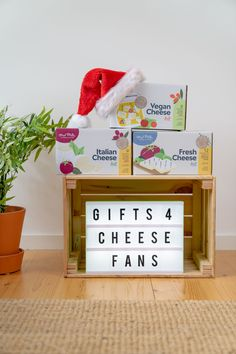 Whether you're a fan of Fresh, Italian or Vegan Cheese there's something for everyone this Christmas. Cheese Making Process, How To Make Cheese, Vegan Cheese, Starter Kit, Fan, Fresh, Christmas, Gifts, Xmas