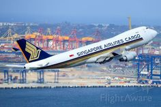 Singapore Airlines Cargo B747 freighter
