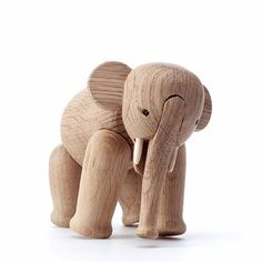 A mid century elephant crafted by Kay Bojesen. $180