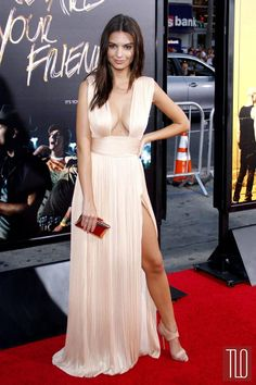 041b48a3a Stock Photo - Emily Ratajkowski at the Los Angeles premiere of  We Are Your  Friends  held at the TCL Chinese Theater in Hollywood