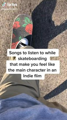 Skateboard Videos, Skateboard Girl, How To Skateboard, Beginner Skateboard, Penny Skateboard, Music Mood, Mood Songs, Music Quotes, Music Songs