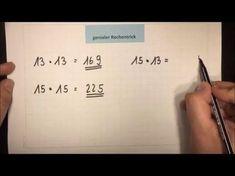 Kopfrechnen - superschnell - genialer Rechentrick | Lehrerschmidt - YouTube