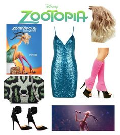 """""""Zootopia2"""" by regulus-star ❤ liked on Polyvore featuring Christian Louboutin and Givenchy"""