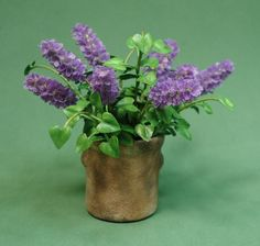 Dollhouse scale lilacs by barbplevan on Etsy, $60.00
