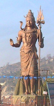 Statue of Lord Shiva, Haridwar Om Namah Shivaya, Indian Eyes, Art Through The Ages, Haridwar, Great Works Of Art, Indian Temple, Religious Images, Shiva Shakti, Travel Tourism