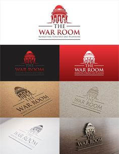 Create a professional new logo design for The War Room Marketing consultancy by eyang