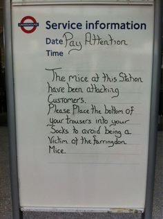 Best of 2012: political gaffes, funny tube signs and One Pound Fish – Now. Here. This. – Time Out London
