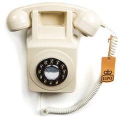 Wandtelefon GPO746 Elfenbein