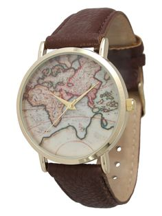 Women's Travelers Watch from Olivia Pratt Watches on Gilt