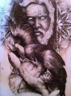 #GreekMythology sketch  (the persecution of prometheous)