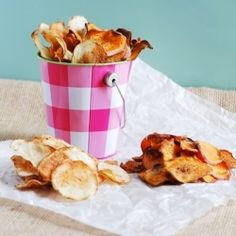 (Baked) Homemade Potato Chips #foodgawker
