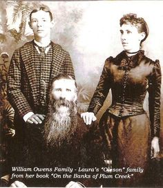 Willie & Nellie Olsen and their father.