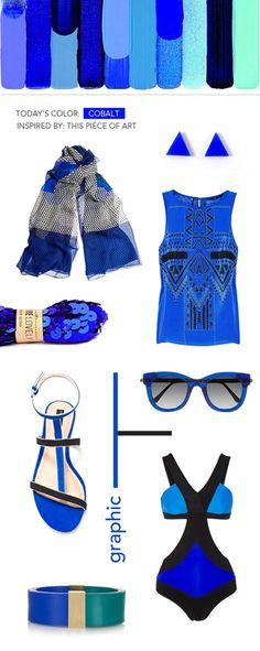 blue blue blue style
