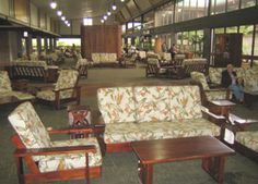 I love the comfy atmosphere of the Hilo airport.