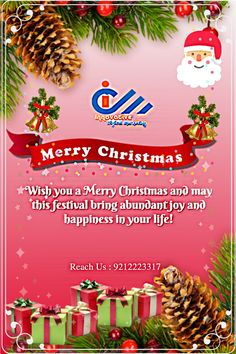 🌲🎁Wish you a Merry Christmas and may this festival 🎅🔔bring abundant joy and happiness in your life🎁🌲