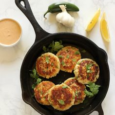 Spicy Jalapeño Tuna Cakes • The Live Fit Girls