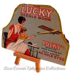 the lucky needle book. liza Cowan Ephemera Collections, via Flickr.