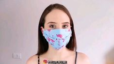 Learn how to make a tissue surgical mask step by step, do it yourself, protection, Easy Face Masks, Diy Face Mask, Sewing Hacks, Sewing Tutorials, Hand Sewn Crafts, Handmade Crafts, Diy Mask, Fashion Face Mask, Sewing Techniques