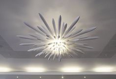 Bones never looked so chic.  Designed John Lewis' flagship Oxford Street store, this bone china chandelier by Kou. Itemhome.co.uk