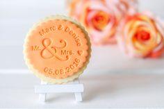 Keksstempel Mr. & Mrs. - personalisiert von DeinKeksstempel auf Etsy