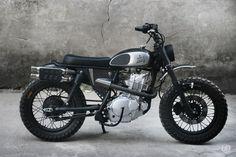 WOW! Suzuki GN250 Scrambler by DuongDoan Design #motorcycles #scrambler #motos | caferacerpasion.com