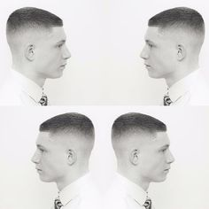 Short super blunt crop skin fade. @osterpro Model one detachable clippers all of this! Seamless blending by @joshberrybarber by dannyandcobarbers