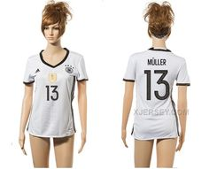 http://www.xjersey.com/germany-13-muller-home-euro-2016-women-jersey.html GERMANY 13 MULLER HOME EURO 2016 WOMEN JERSEY Only $35.00 , Free Shipping!