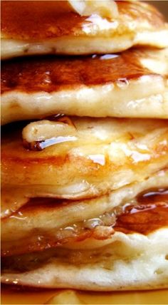 Banana buttermilk pancakes Very easy recipe to follow, perfect ...