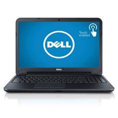 Dell Inspiron i15RVT-8571BLK 15.6-Inch Touchscreen Laptop, Intel Core i3-3227U, 4GB Memory, 500GB Hard Drive